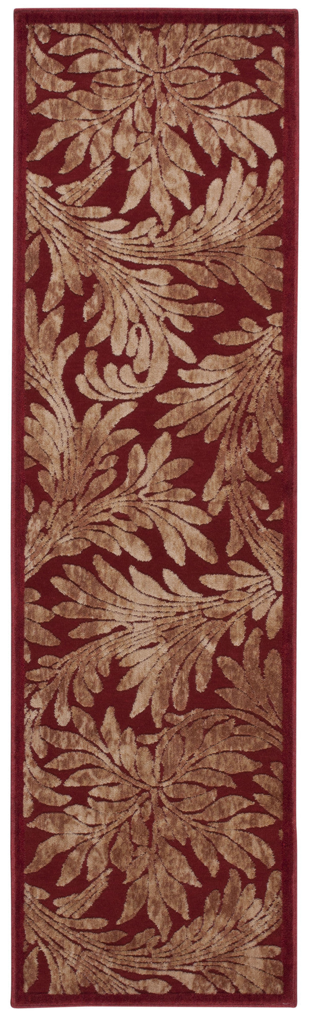 Nourison Graphic Illusions Red Area Rug GIL19 RED