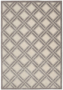 Nourison Graphic Illusions Ivory Area Rug GIL21 IV