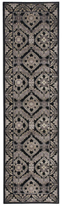 Nourison Graphic Illusions Black Area Rug GIL24 BLK