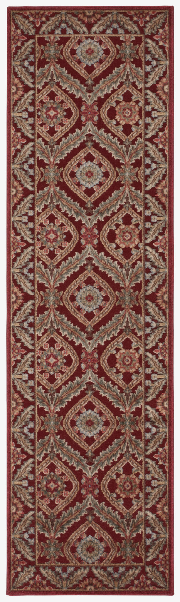 Nourison Graphic Illusions Red Area Rug GIL24 RED