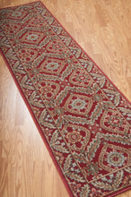 Load image into Gallery viewer, Nourison Graphic Illusions Red Area Rug GIL24 RED (Runner)