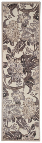Nourison Graphic Illusions Ivory Area Rug GIL26 IV