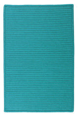 Colonial Mills Simply Home Solid H049 Turquoise Indoor/Outdoor Area Rug