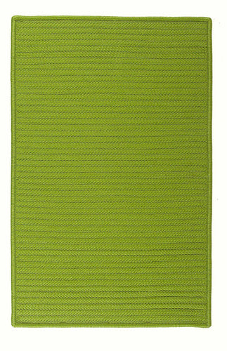Colonial Mills Simply Home Solid H271 Bright Green Indoor/Outdoor Area Rug