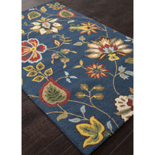 Load image into Gallery viewer, Jaipur Rugs Transitional Floral Pattern Blue/Multi Wool Area Rug HAC05 (Rectangle)