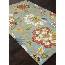 Load image into Gallery viewer, Jaipur Rugs Transitional Floral Pattern Blue/Multi Wool Area Rug HAC09 (Rectangle)