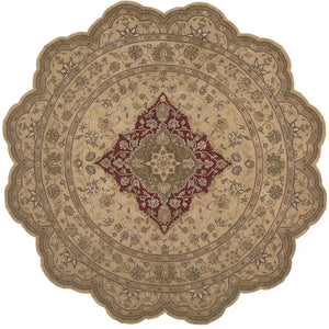 Nourison Heritage Hall Lacquer Area Rug HE03 LAC