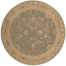Load image into Gallery viewer, Nourison Heritage Hall Green Area Rug HE20 GRE
