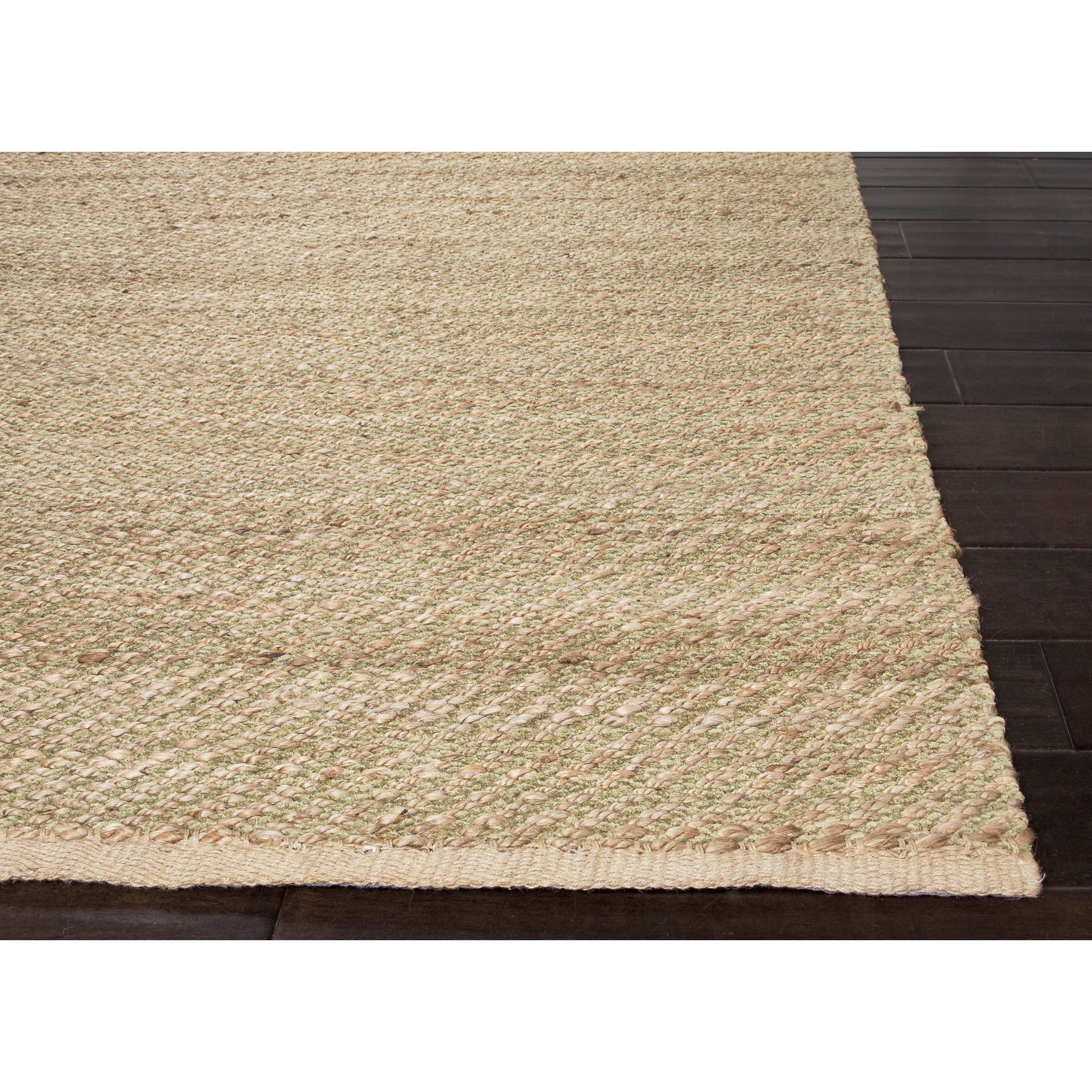 Jaipur Rugs Naturals Solid Pattern Taupe Tan Jute And