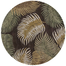 Load image into Gallery viewer, Kas Rugs Havana 2617 Espresso Fern View Area Rug