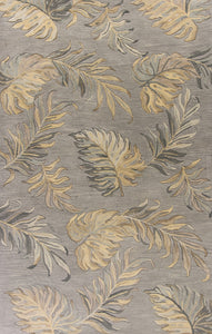 Kas Rugs Havana 2639 Grey Palms Area Rug