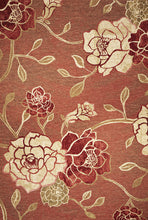 Load image into Gallery viewer, Kas Rugs Horizon 5708 Brick Red Flora Area Rug