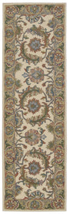 Nourison India House Ivory Gold Area Rug IH05 IGD