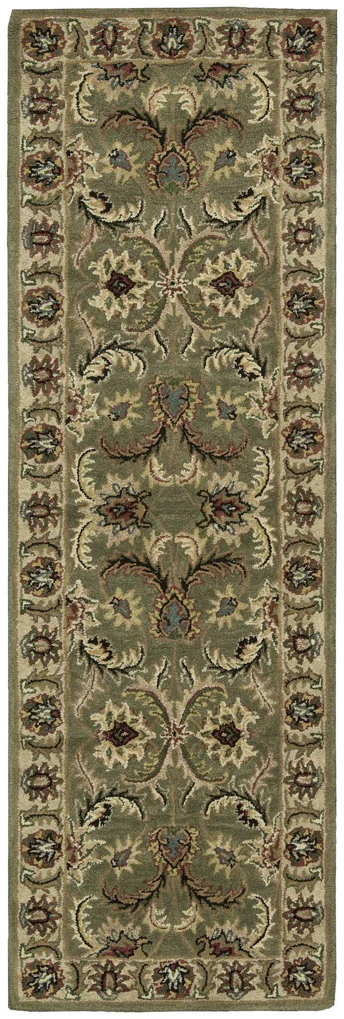 Nourison India House Green Area Rug IH18 GRE