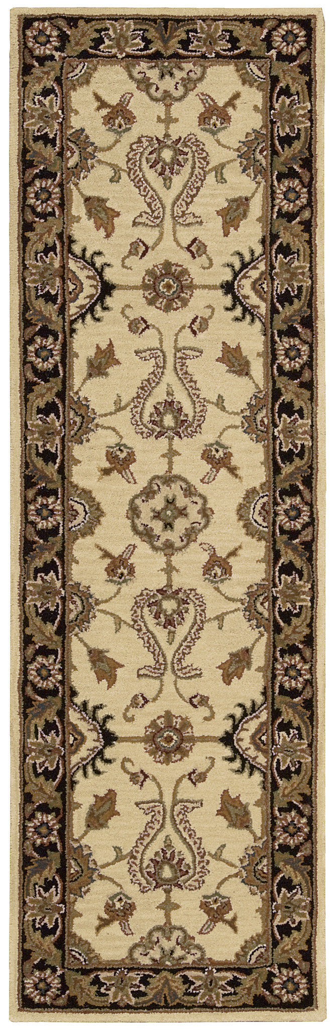 Nourison India House Beige Area Rug IH60 BGE