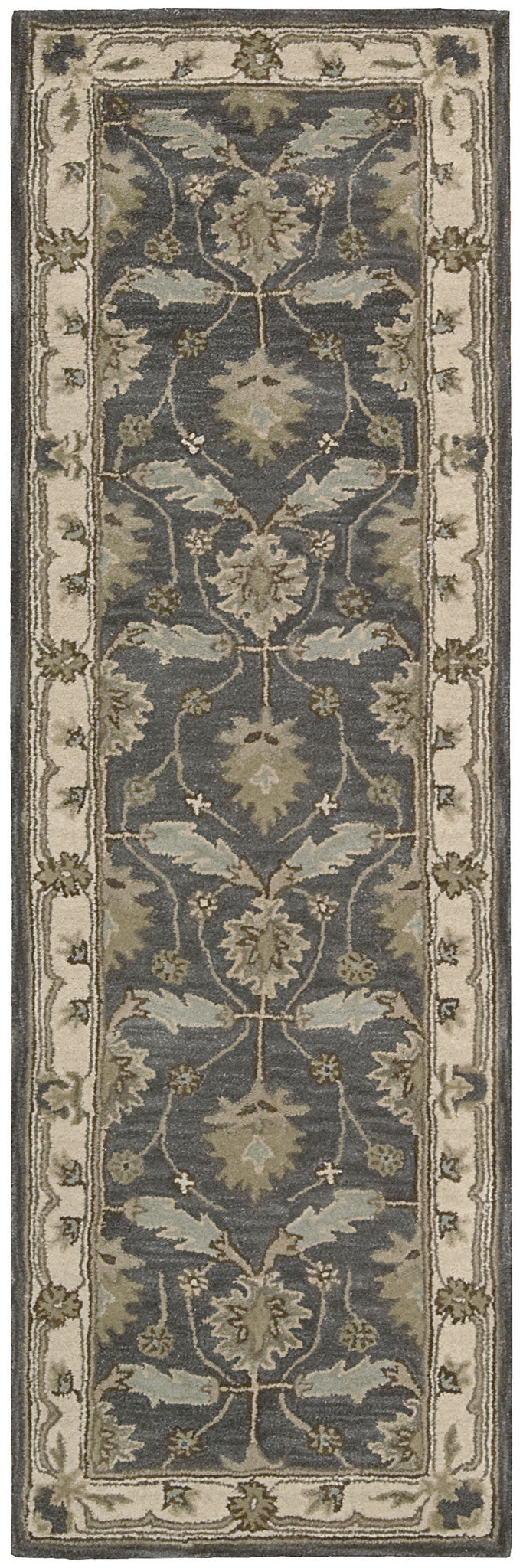 Nourison India House Blue Area Rug IH75 BL