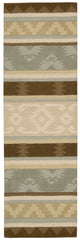 Nourison India House Sage Area Rug IH84 SAG