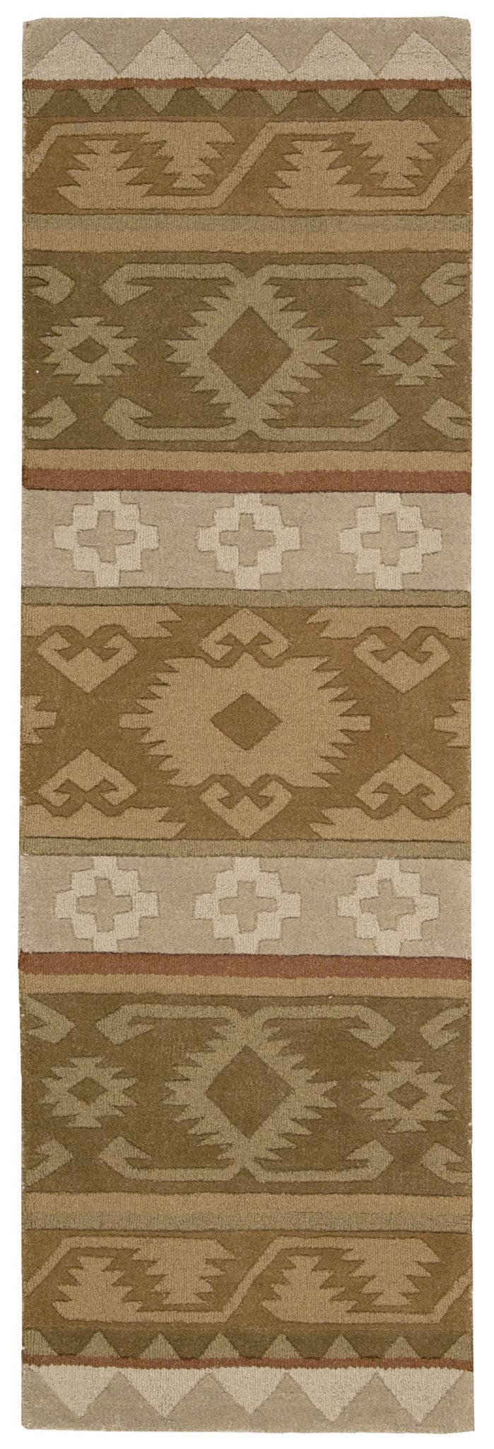 Nourison India House Camel Area Rug IH85 CAM