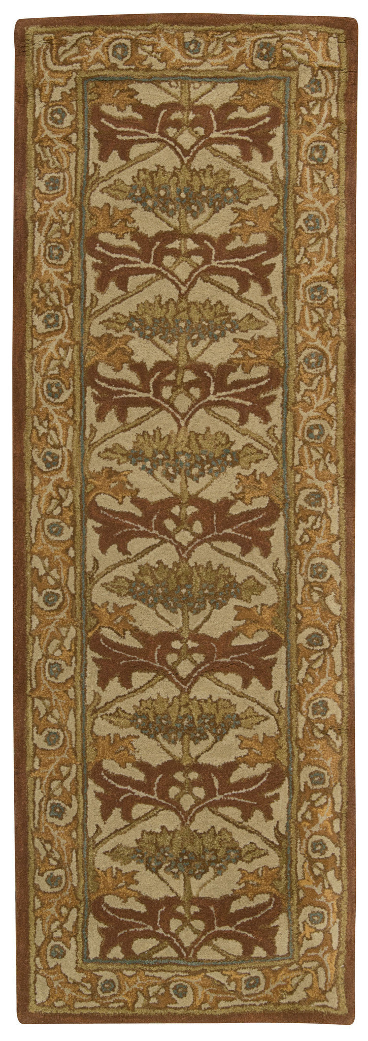 Nourison India House Beige Area Rug IH86 BGE