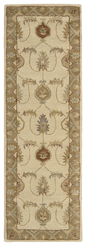 Nourison India House Ivory Gold Area Rug IH87 IGD