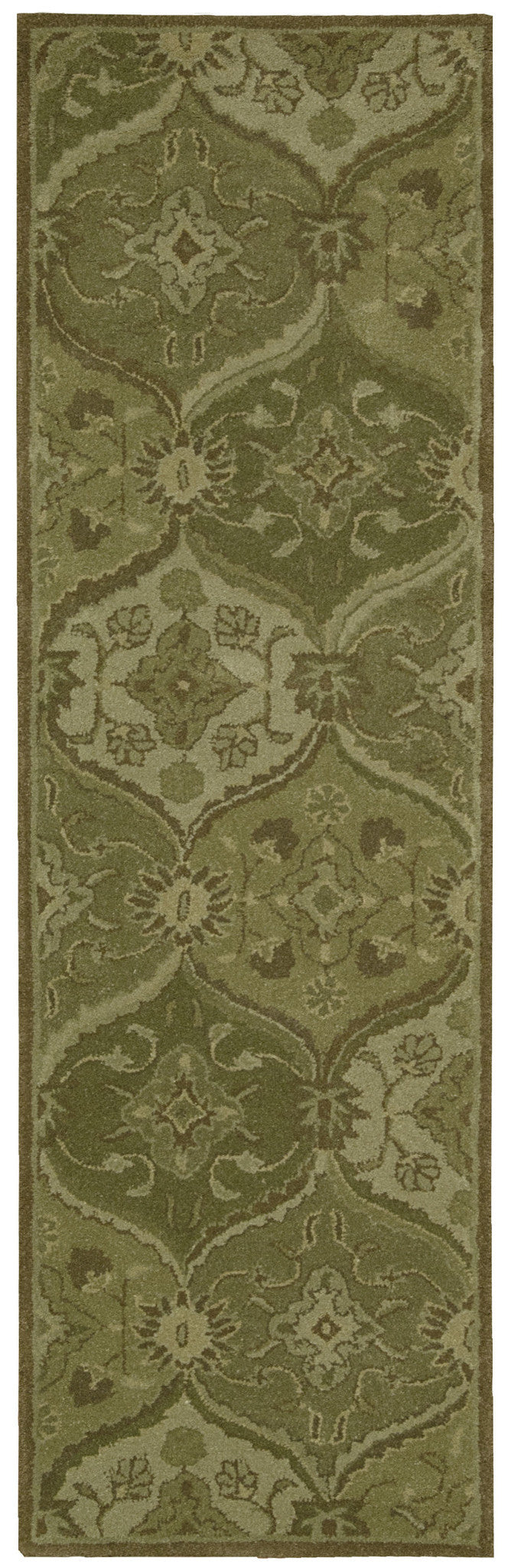Nourison India House Green Area Rug IH88 GRE