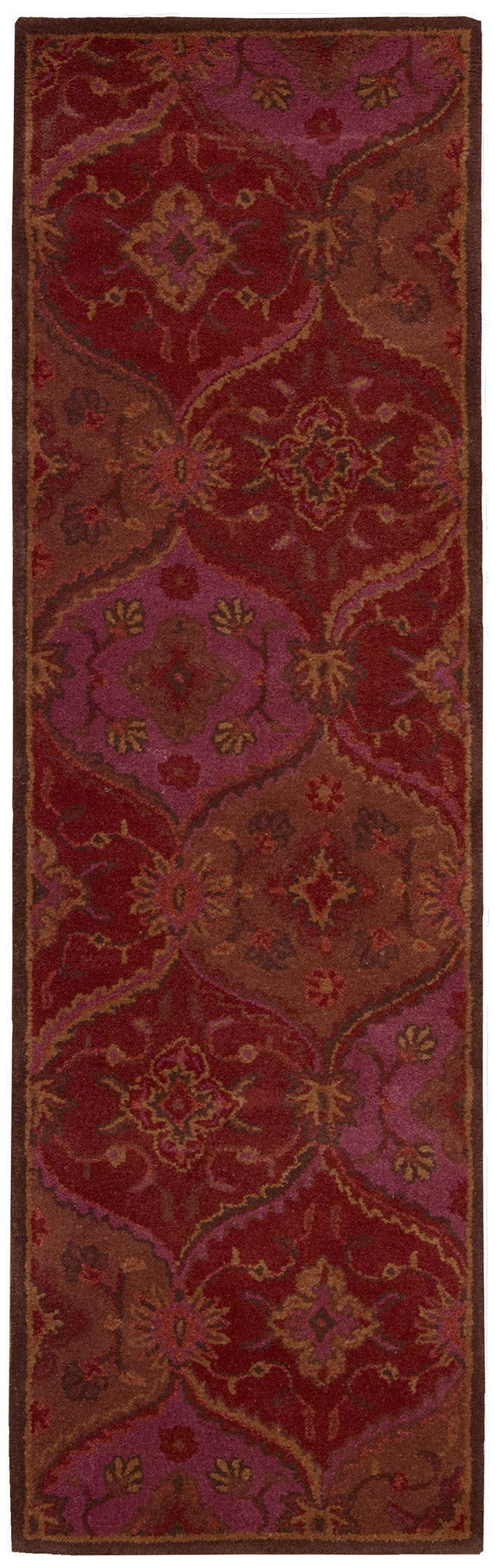 Nourison India House Red Area Rug IH88 RED