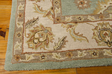 Load image into Gallery viewer, Nourison India House Seafoam Area Rug IH90 SFM (Rectangle)