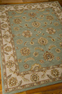 Nourison India House Seafoam Area Rug IH90 SFM