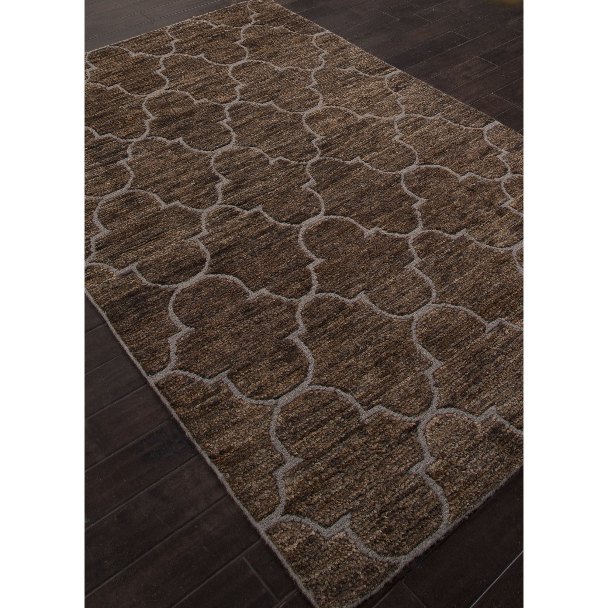 Jaipur Rugs Naturals Moroccan Pattern Brown Jute And Wool