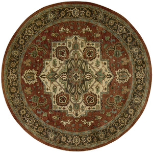 Nourison Jaipur Red Area Rug JA36 RED