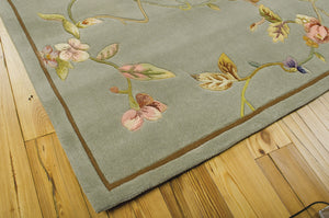 Nourison Julian Aqua Area Rug JL91 AQU (Rectangle)