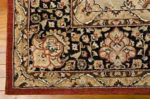 Kathy Ireland Lumiere Persian Tapestry Multicolor Area Rug By Nourison KI601 MTC (Rectangle)