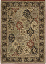Load image into Gallery viewer, Kathy Ireland Lumiere Persian Tapestry Multicolor Area Rug By Nourison KI601 MTC
