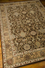 Load image into Gallery viewer, Kathy Ireland Lumiere Stateroom Espresso Area Rug By Nourison KI602 ESP