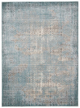 Load image into Gallery viewer, Nourison Karma Blue Area Rug KRM01 BLU
