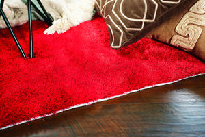 Kas Rugs Key West 0609 Tomato Red Area Rug