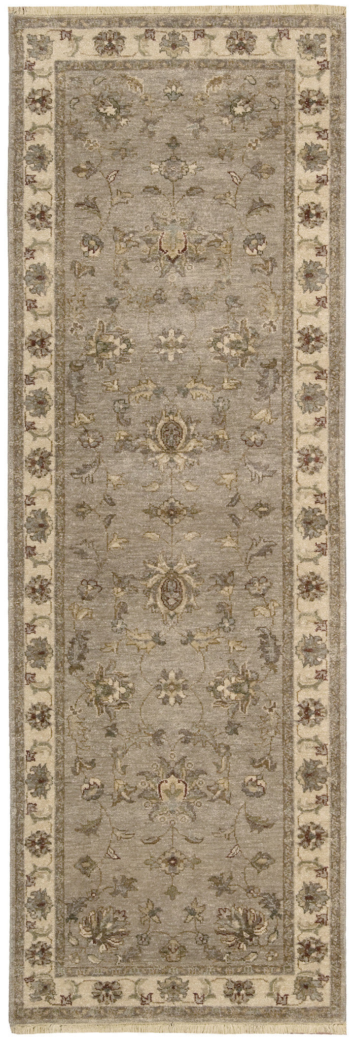 Nourison Legend Grey Area Rug LD02 GRY