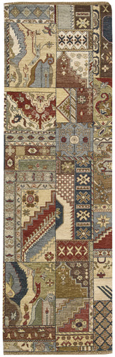 Nourison Legend Multicolor Area Rug LD05 MTC