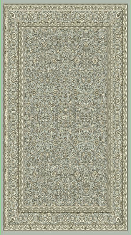 Dynamic Rugs Legacy Light Blue Classic Rectangle Area Rug
