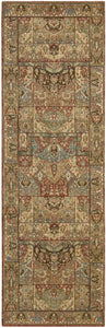 Nourison Living Treasures Multicolor Area Rug LI02 MTC