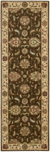 Nourison Living Treasures Brown Area Rug LI04 BRN