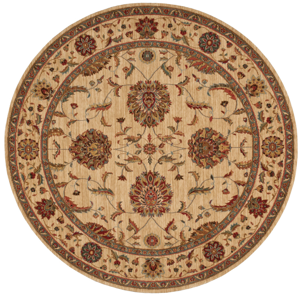 Nourison Living Treasures Ivory Area Rug LI04 IV