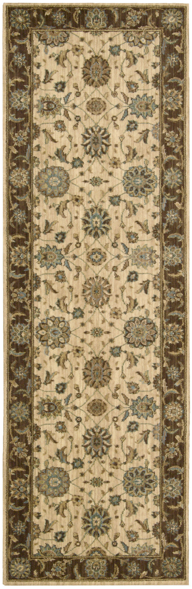 Nourison Living Treasures Beige Area Rug LI05 BGE