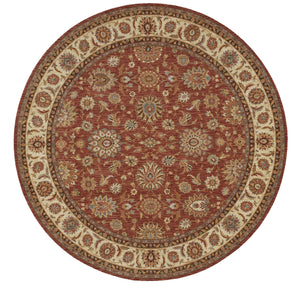 Nourison Living Treasures Rust Area Rug LI05 RUS
