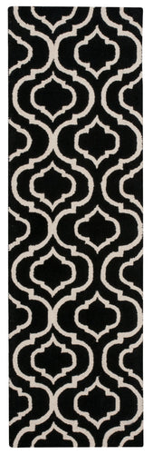 Nourison Linear Black White Area Rug LIN15 BKW