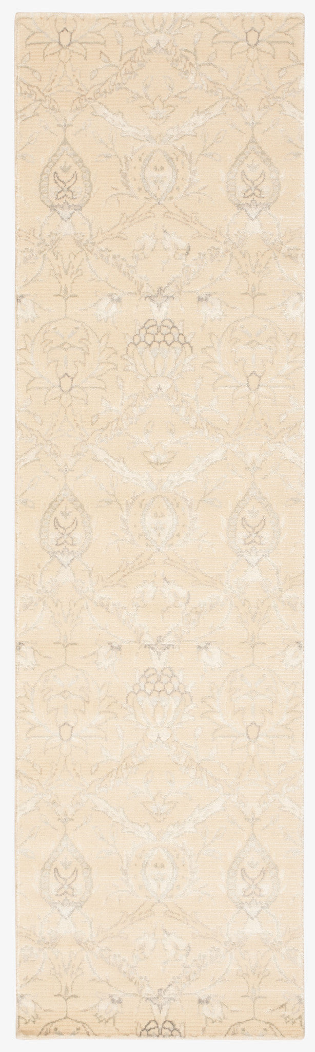 Nourison Luminance Cream Area Rug LUM07 CREAM