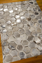 Load image into Gallery viewer, Michael Amini City Chic Silver Area Rug By Nourison MA100 SIL (Rectangle)