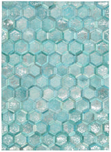 Load image into Gallery viewer, Michael Amini City Chic Turquoise Area Rug By Nourison MA100 TURQU