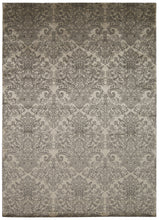 Load image into Gallery viewer, Michael Amini Platine Ecru Area Rug By Nourison MA202 ECRU