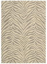 Load image into Gallery viewer, Michael Amini Zambiana Ash Area Rug By Nourison MA401 ASH